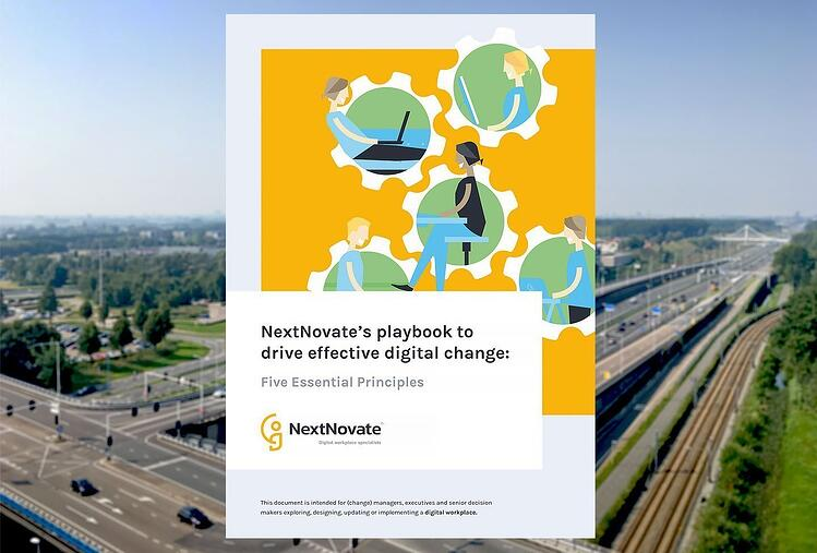 NextNovate's playbook to drive effective digital change: Five Essential Principles (40 pagina's)