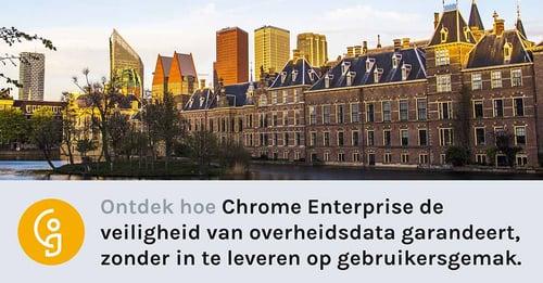 Chrome Enterprise: de superveilige oplossing voor overheden