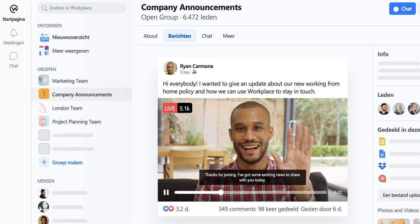 Hoe organisaties productiever worden met Facebook